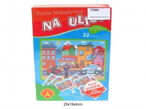 PUZZLE MAGNETYCZNE-NA ULICY 1743 AL 77004